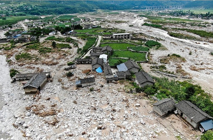 China battles floods and poor upstream water management  - ảnh 1