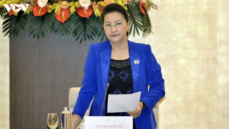 NA Chairwoman requests thorough preparations for ASEAN parliamentary assembly  - ảnh 1