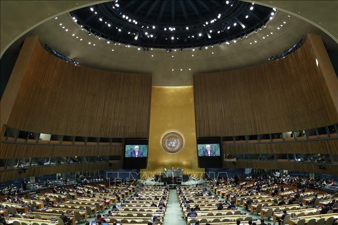 43 countries, territories ratify UN Treaty on Prohibition of Nuclear Weapons   - ảnh 1