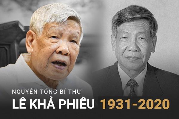 Leaders extend condolences over former Party chief Le Kha Phieu's death - ảnh 1