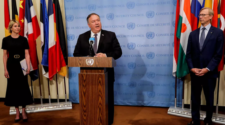 US increases unilateral pressure on Iran - ảnh 1