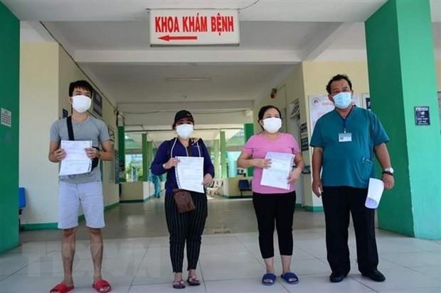 More patients declared cured in Da Nang, Quang Tri - ảnh 1