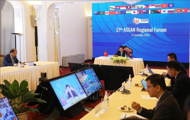 ASEAN Foreign Ministers' Meeting enters the last working day - ảnh 1
