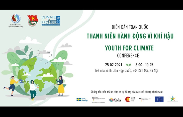 Vietnam Youth Forum for climate - ảnh 1