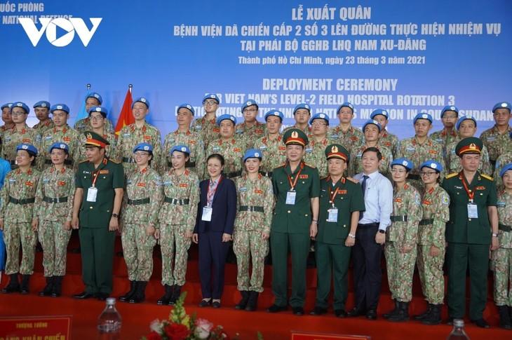 Staff of Vietnam's 3rd field hospital sent to South Sudan - ảnh 1