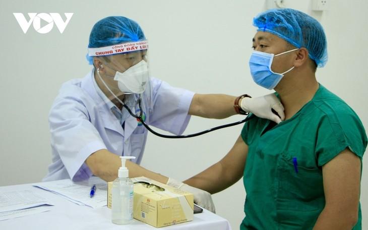 Gia Lai dissolves COVID-19 field hospital, 50 medical staff complete quarantine - ảnh 1