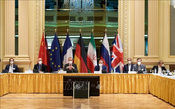 US plays down expectations for Vienna Iran nuclear talks - ảnh 1
