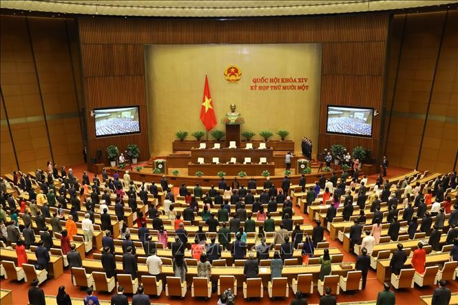 14th National Assembly closes  - ảnh 1