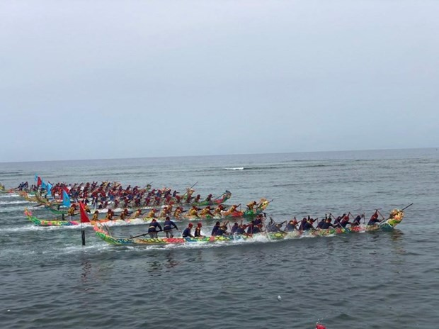 Tu Linh boat racing festival recognized as national heritage - ảnh 1