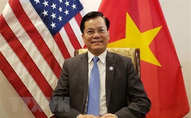 Vietnam Ambassador attends inauguration of US INDOPACOM Commander  - ảnh 1