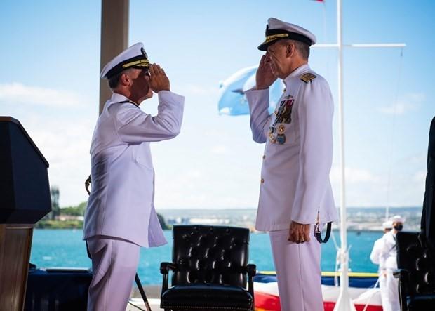 Vietnam Ambassador attends inauguration of US INDOPACOM Commander  - ảnh 2