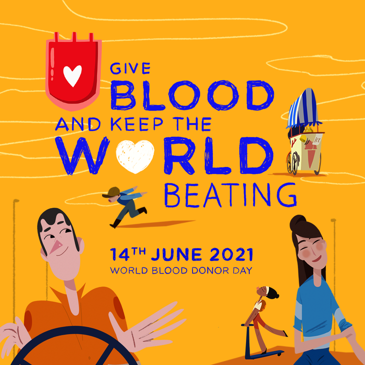 """World Blood Donor Day  2021: """"Give blood and keep the world beating"""" - ảnh 1"""