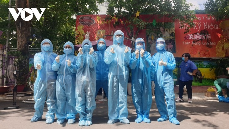 Medical students volunteer to join Covid-19 frontline - ảnh 3