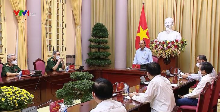 President underlines Vietnam's major policy of paying debts of gratitude  - ảnh 2