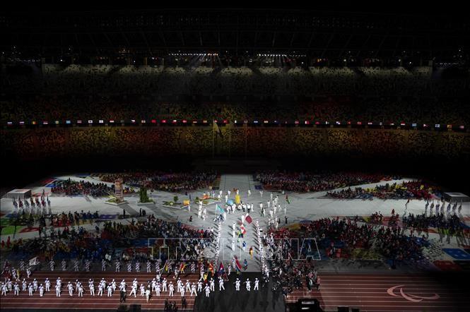 Tokyo 2020 Paralympics closes, China leads gold tally  - ảnh 1