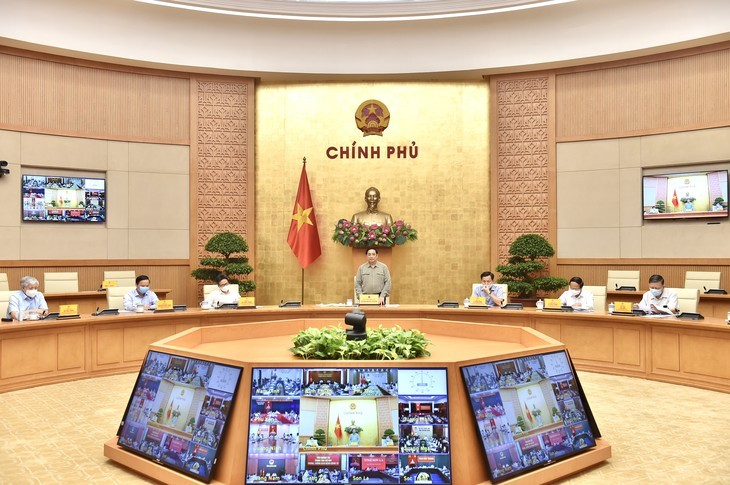 COVID-19 pandemic almost under control across Vietnam  - ảnh 1