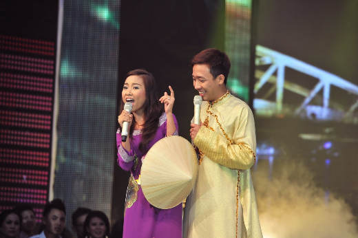 越南女歌手端庄 - ảnh 1