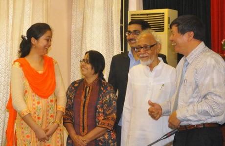 """""""亚太世纪中的越南-印度关系""""研讨会在太原省举行 - ảnh 1"""