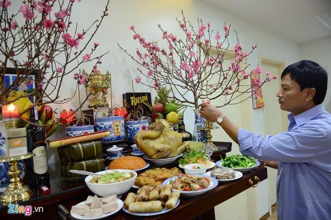 越南人家庭生活中年尾的最后一个下午 - ảnh 1