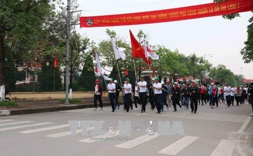 北宁省举行跑步比赛  响应2018年亚运会 - ảnh 1