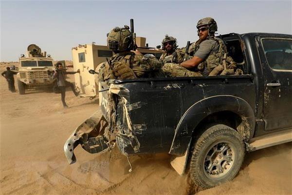 以美国为首的驻伊拉克和叙利亚联军正处于随时战斗状态 - ảnh 1