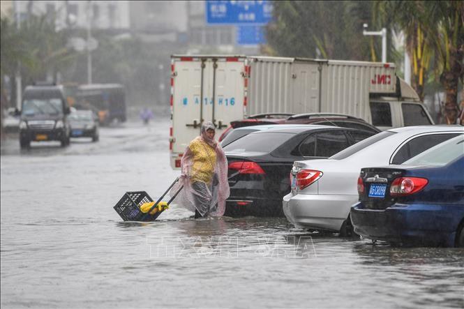 """台风""""韦帕""""二次登陆中国 - ảnh 1"""
