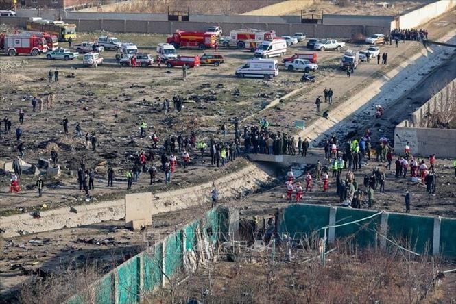 乌克兰飞机在伊朗坠毁:乌克兰宣布悼念一天 - ảnh 1