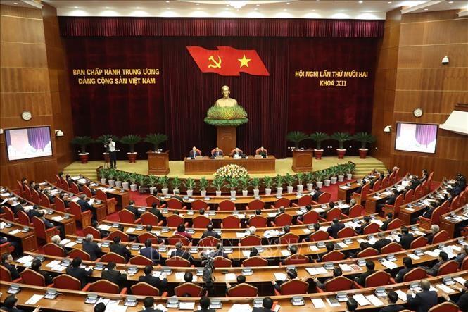 越共第十二届中央委员会第十二次全体会议 - ảnh 1
