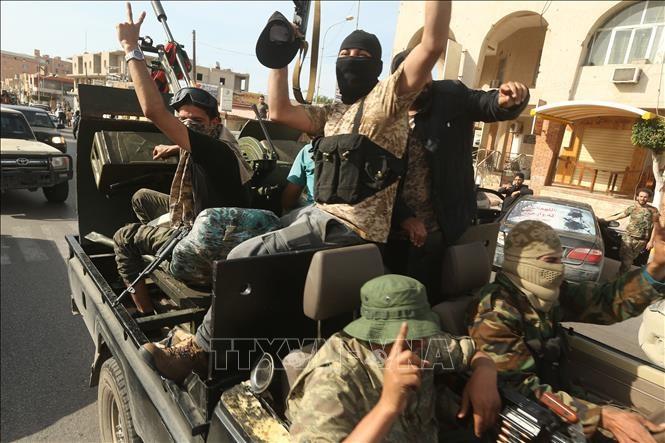利比亚民族团结政府宣布控制整个的黎波里市 - ảnh 1