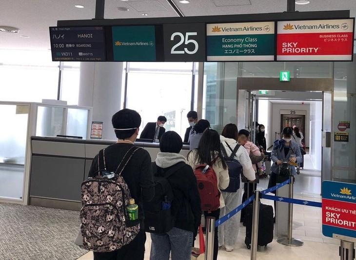 把越南公民从日本、中国台湾接回国 - ảnh 1