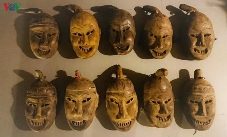 勉语瑶族人文化信仰中的面具 - ảnh 1