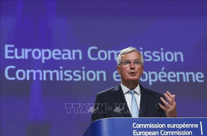 欧盟准备英国无协议脱欧预案 - ảnh 1