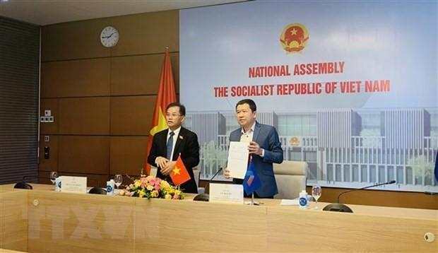 越南国会代表团出席东盟议会联盟大会咨询小组第12次会议 - ảnh 1