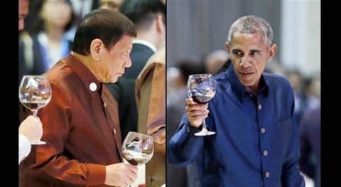 Президенты США и Филиппин встретились в Лаосе - ảnh 1