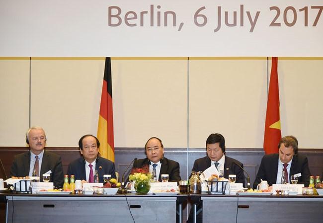 Германия является ведущим партнером Вьетнама в Европе - ảnh 1
