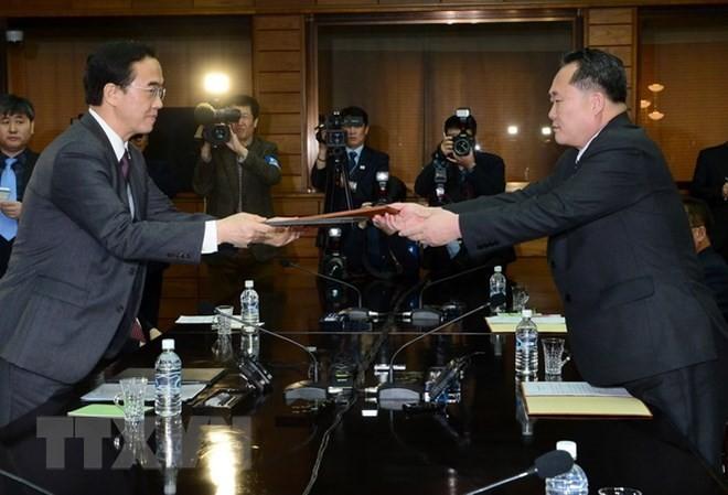 Япония высоко оценила усилия Республики Корея по денуклеаризации Корейского полуострова - ảnh 1