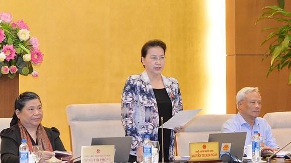 В Ханое завершилось 24-е заседание Постоянного комитета Нацсобрания Вьетнама - ảnh 1