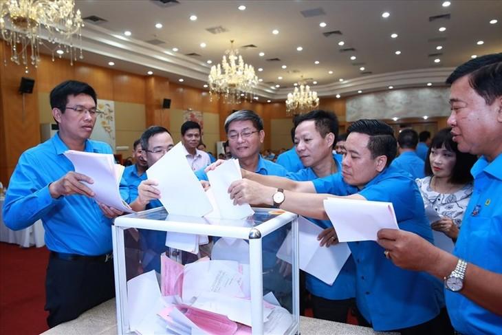 12-й съезд профсоюзов Вьетнама избрал новое руководство созыва 2018-2023 годов - ảnh 1