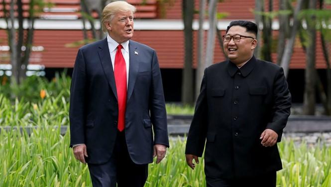 Дональд Трамп готов встретиться с лидером КНДР второй раз - ảnh 1