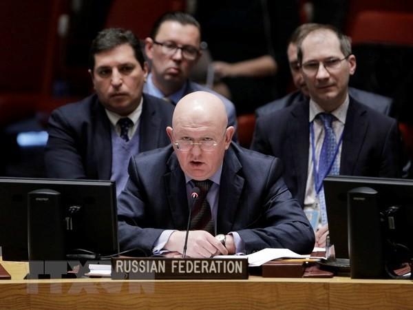 РФ критикует организацию конференции по Ближнему Востоку в Польше  - ảnh 1