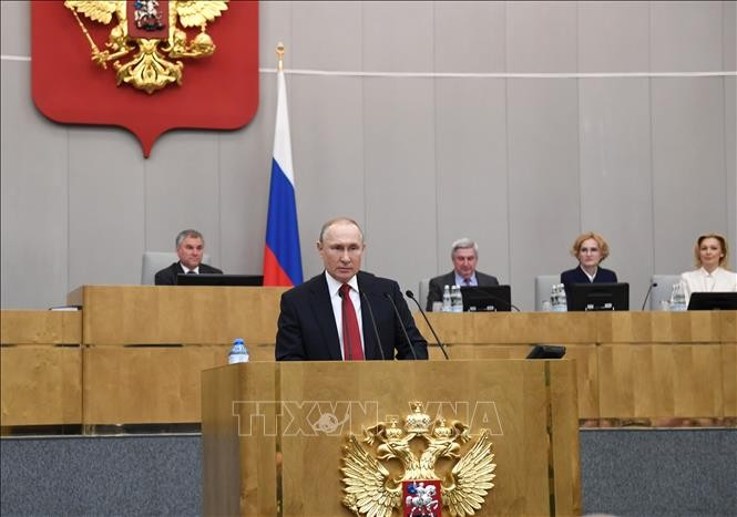 Президент РФ подписал закон о голосовании по почте - ảnh 1
