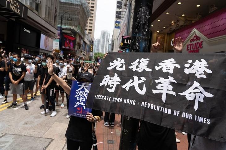 Госсекретарь США: Гонконг больше не автономен от Китая - ảnh 1
