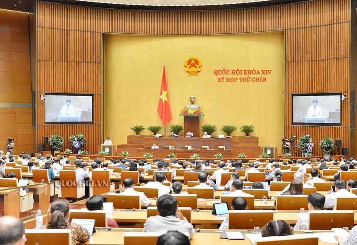 Национальное собрание Вьетнама продолжает рассматривать многие важные вопросы - ảnh 1
