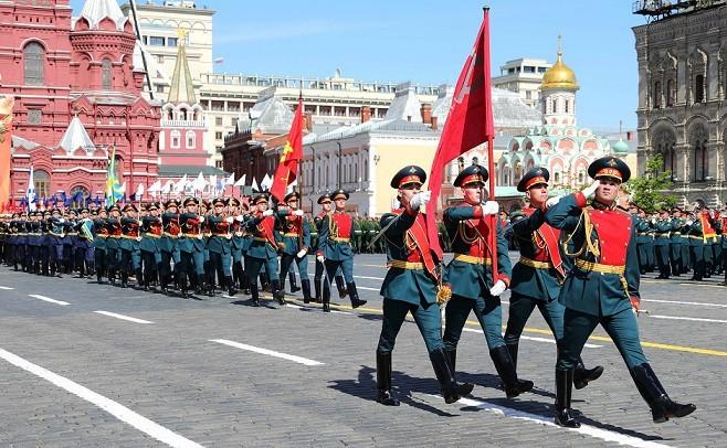 В РФ прошёл военный парад в честь 75-летия Победы в Великой Отечественной войне - ảnh 1