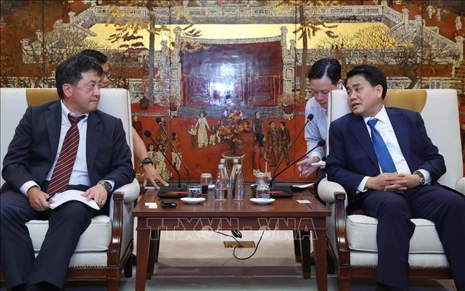 Ханой и Японское агентство международного сотрудничества (JICA) расширяют сотрудничество - ảnh 1