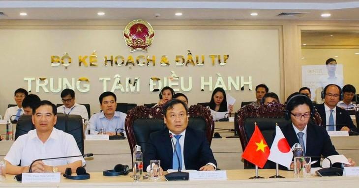 Вьетнамо-японская онлайн-конференция по активизации инвестиционной деятельности - ảnh 1