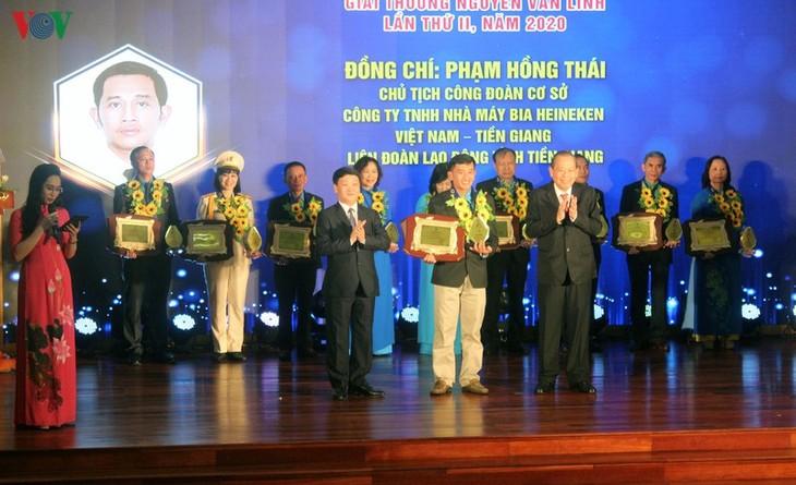 Вручена 2-я премия имени Нгуен Ван Линя - ảnh 1