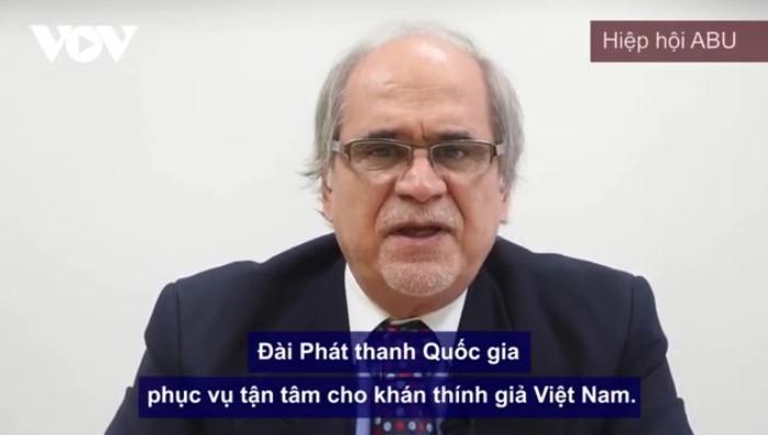 Иностранные друзья направили поздравления по случаю 75-летнего юбилея Радио «Голос Вьетнама» - ảnh 1