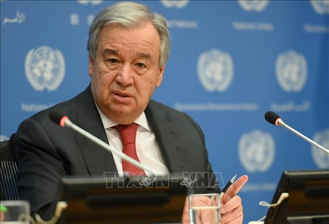 Генсек ООН призвал мировые державы сотрудничать в борьбе с изменением климата - ảnh 1