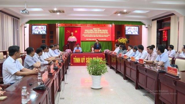Председатель НС Вьетнама совершила рабочую поездку в провинцию Шокчанг - ảnh 1